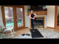 QUICK STRENGTH CIRCUIT w/ ROBIN // HOME WORKOUT + NO EQUIPMENT