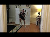 QUICK HIIT AND CORE CHALLENGE w/ JASON // HOME WORKOUT + NO EQUIPMENT