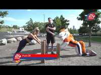 Make Every Day Game Day Workout Series | 24 Hour Fitness I Push and Pull