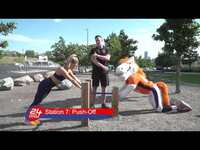 24 Hour Fitness Outdoor Gym