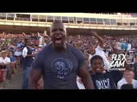 Terry Crews on the L.A. Rams & 24 Hour Fitness Flex Cam!