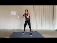 BOXING BOOT CAMP w/ GINA // HOME WORKOUT + NO EQUIPMENT